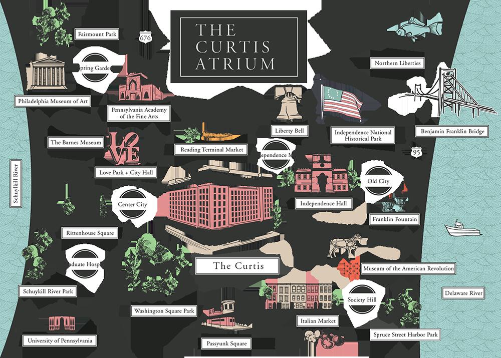 The Curtis Atrium Map