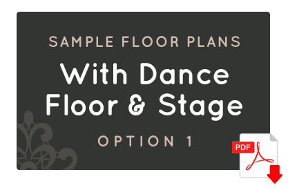 With Dance Floor & Stage - Option 1