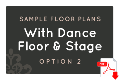 With Dance Floor & Stage - Option 2